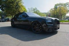 Rolls-Royce on display Stock Photos