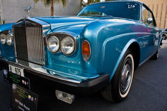 A 1977 Rolls Royce stock image