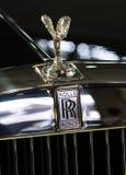 Rolls-Royce embleem Stock Foto