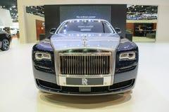 Rolls Royce en el 36.o salón del automóvil internacional 2015 de Bangkok Foto de archivo