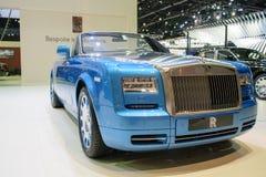 Rolls Royce en el 36.o salón del automóvil internacional 2015 de Bangkok Fotos de archivo