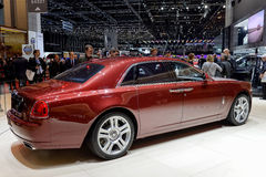 Rolls Royce en la Ginebra 2014 Motorshow fotos de archivo libres de regalías