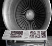 Rolls Royce engine 1970 Stock Photography