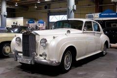 Rolls Royce för 1959 oklarhet silver Royaltyfri Foto