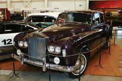 Rolls Royce för 1962 oklarhet silver Arkivfoto