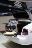 Rolls Royce för korgmotorparis picknick show Arkivfoton