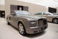 Rolls Royce Phantom Drophead Coupé. Rolls-Royce at Frankfurt Motorshow 2009 stock photos