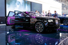 Rolls Royce Ghost Black Badge Edition Royaltyfria Foton
