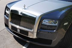 Rolls-Royce Ghost Royalty Free Stock Photos