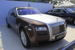 Rolls-royce ghost extended wheelbase Stock Image