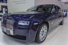 Rolls Royce Ghost Extended Wheelbase Car Royalty Free Stock Photography