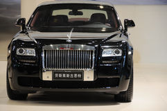 The Rolls-Royce Ghost front Stock Images