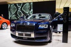 Rolls-Royce Ghost, Motor Show Geneva 2015. Royalty Free Stock Photo