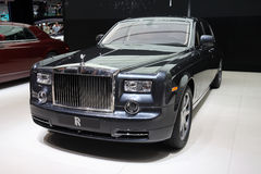 Rolls-Royce Ghost at Paris Motor Show Royalty Free Stock Photography