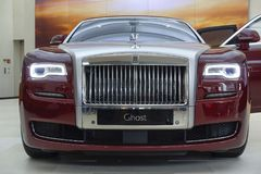 Rolls Royce Ghost Royalty Free Stock Photo
