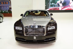 The Rolls-Royce Ghost Standard Wheelbase The Majestic Horse Stock Image