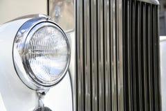 Rolls Royce Headlight Stock Photo