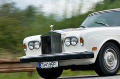 Rolls Royce i rörelse Arkivbild