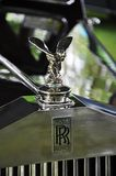 Rolls Royce im antiken Car Show Stockfotos