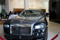 Rolls Royce im Ausstellungsraum Stockbilder