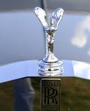Rolls Royce insignia. Royalty Free Stock Photo