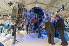 Rolls-Royce jet engine Stock Image