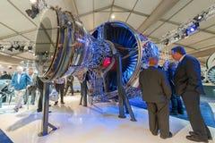 Rolls-Royce jet engine Stock Image