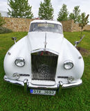 Rolls Royce limousine car Royalty Free Stock Image