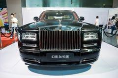 Rolls-Royce limousine stock image
