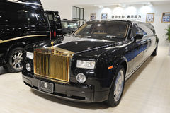 Rolls Royce limousine Stock Photography