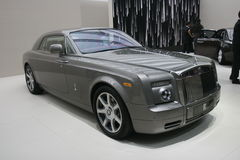 Rolls Royce luxury car Stock Photos