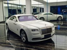 Rolls Royce luxury car Stock Photo