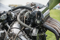 Rolls Royce Merlin aero engine Stock Image