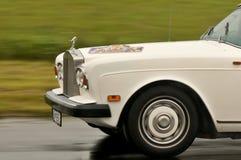 Rolls Royce in motie Royalty-vrije Stock Foto