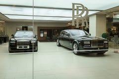 Rolls Royce Motorowi samochody Obrazy Royalty Free