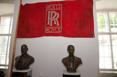 Rolls royce museum in Dornbirn Royalty Free Stock Images