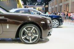 Rolls royce na 36th exposição automóvel internacional 2015 de Banguecoque Imagem de Stock
