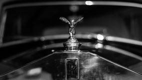 Rolls Royce old car. A Rolls Royce old car, at the 24h of Le Mans Museum (France Royalty Free Stock Photo