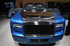 Rolls Royce at Paris Motor Show 2014 Royalty Free Stock Photography