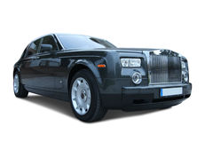 Rolls royce phantom. Luxury car with amplified perspective Stock Image