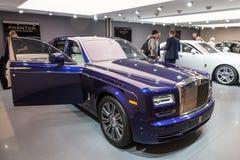 Rolls Royce Phantom allo IAA 2015 in conduttura di Francoforte Immagini Stock