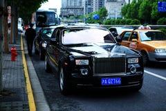 Rolls Royce Phantom Royalty Free Stock Photography