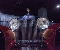 1930 Rolls Royce Phantom 1 coupé ébouriffé par le vent Photo libre de droits