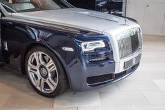 Rolls Royce Phantom Coupè al museo di BMW Fotografia Stock Libera da Diritti
