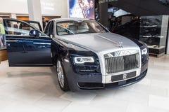 Rolls Royce Phantom Coupè au musée de BMW Image stock