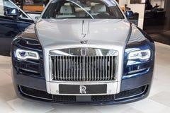 Rolls Royce Phantom Coupè au musée de BMW Image libre de droits