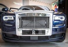 Rolls Royce Phantom Coupè en el museo de BMW Fotos de archivo