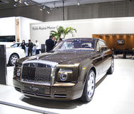 Rolls Royce Phantom Coupe Arkivbild