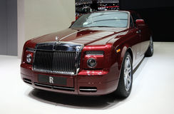 Rolls-Royce Phantom Coupe at Paris Motor Show Stock Photos