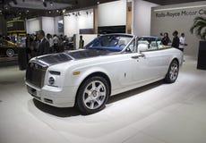 Rolls Royce Phantom Coupe vit Arkivbild